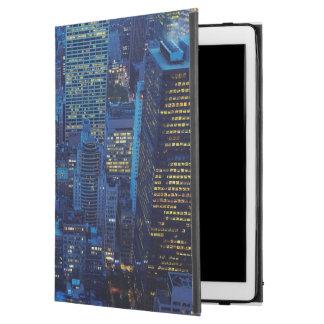"NYC Skyline, high angle view at dusk iPad Pro 12.9"" Case"