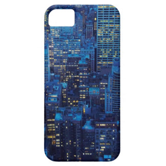 NYC Skyline, high angle view at dusk iPhone 5 Case