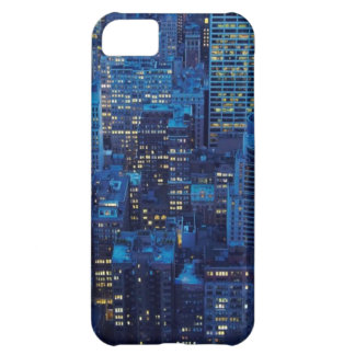 NYC Skyline, high angle view at dusk iPhone 5C Case