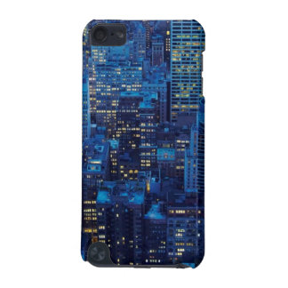 NYC Skyline, high angle view at dusk iPod Touch (5th Generation) Cover