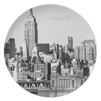 NYC Skyline II Plate