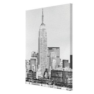 NYC Skyline IV Canvas Print
