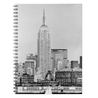 NYC Skyline IV Spiral Notebook