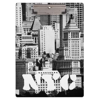 NYC Skyline IX Clipboard