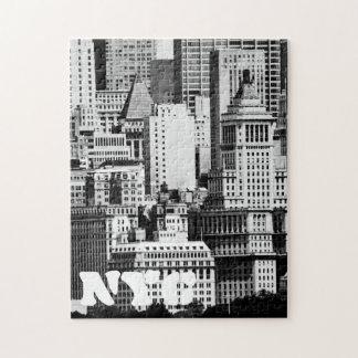 NYC Skyline IX Jigsaw Puzzle