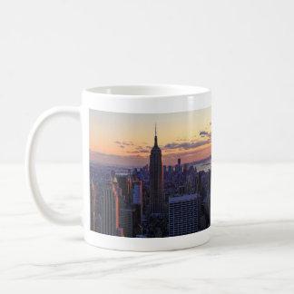 NYC Skyline just before sunset Coffee Mug
