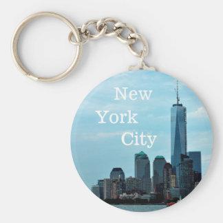 NYC Skyline keychain
