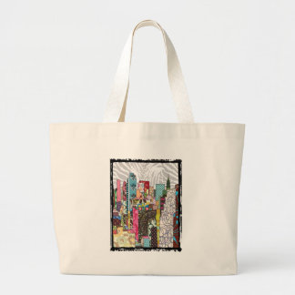 NYC Skyline Large Tote Bag