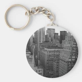 NYC Skyline Photo Key Ring