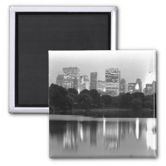 NYC Skyline Square Magnet