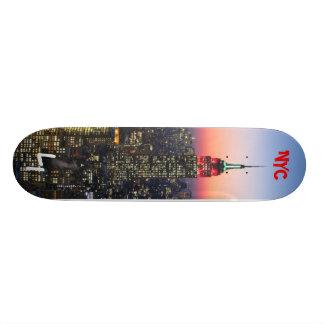 NYC Skylinekool, NYC, LI Skate Board Decks