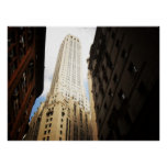 NYC Skyscraper Reaching To the Sky, All Sizes Print