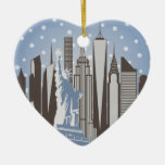 NYC Snowflakes Ornaments