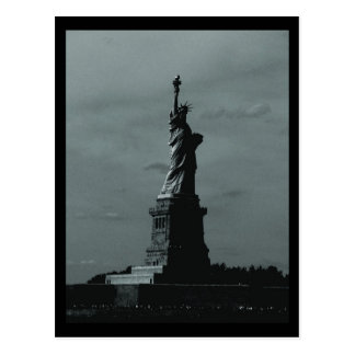 NYC Statue of Liberty B W Postcards