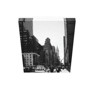 NYC street scape Canvas Print