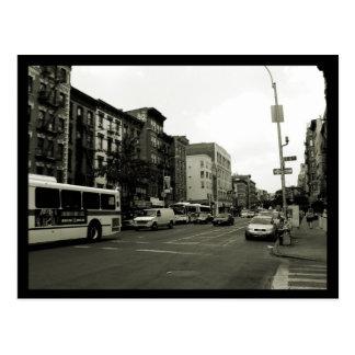NYC Street Scene Postcard