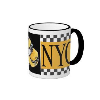 NYC Taxi Cab Coffee Mug