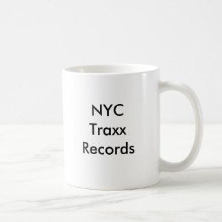 NYC Traxx Records Coffee Mug