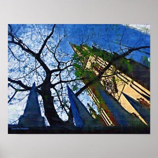 NYC Trinity Church Poster