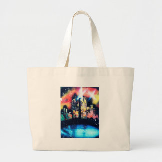 NYC Twin Towers Canvas Bags
