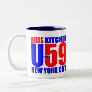 NYC URBAN59 HELLS KITCHEN ARTWORKS STUDIO MUG