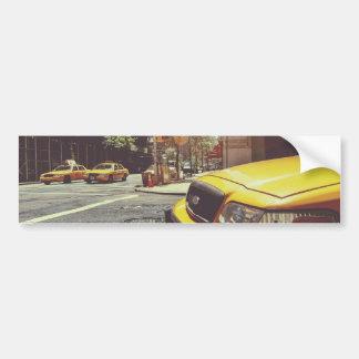 NYC Yellow Cab Bumper Sticker