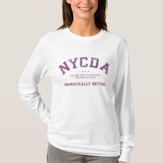 NYCDA Women Long Sleeve White Hoodie
