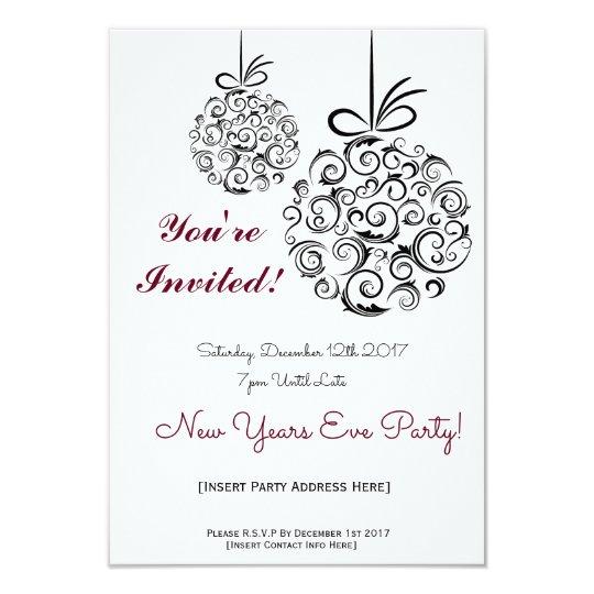 NYE Party Invitation