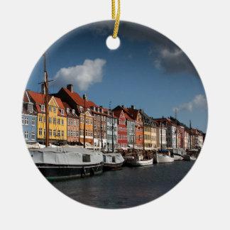 Nyhavn, Copenhagen Christmas Ornament