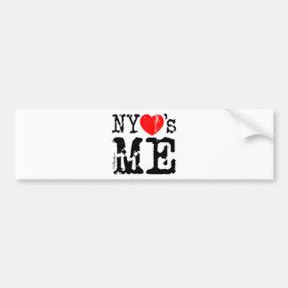NYheartsME 2 Car Bumper Sticker
