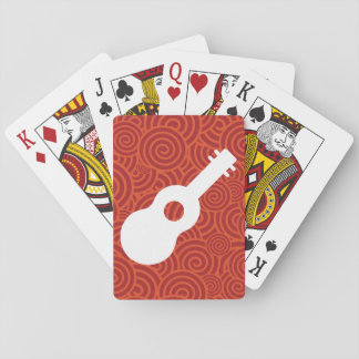 Nylon Guitars Symbol Playing Cards