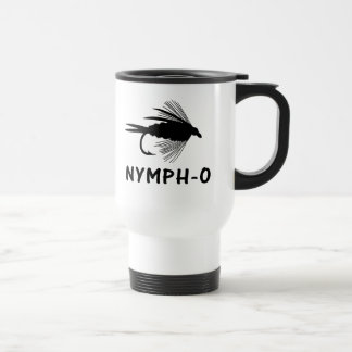 Nymph-O funny fly fishing lure Coffee Mugs