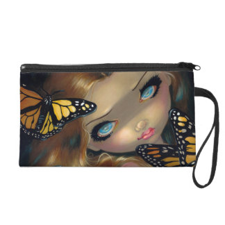 """""""Nymph with Monarchs"""" Wristlet"""