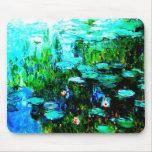 Nympheas Water Lillies Monet Mousepad