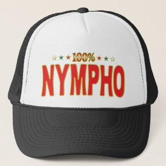 Nympho Star Tag Trucker Hat