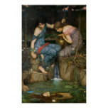 Nymphs Finding the Head of Orpheus Print