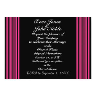 Nyx (Magenta) Wedding Invitation