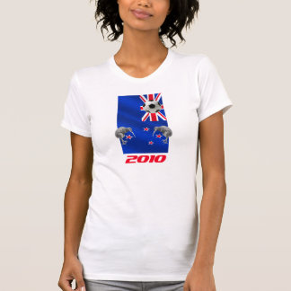 NZ 2010 All Whites Soccer gifts T-Shirt