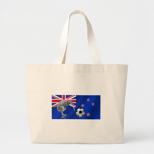 NZ all whites Kiwi soccer football fans gifts Tote Bag