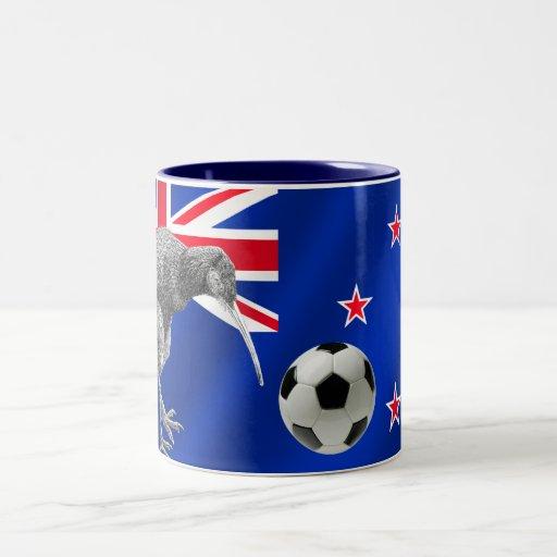 NZ all whites Kiwi soccer football fans gifts Coffee Mugs