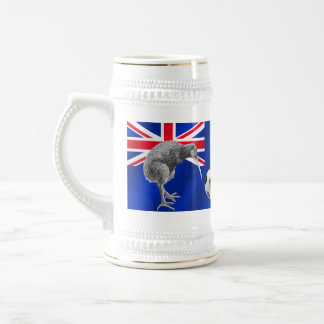 NZ all whites Kiwi soccer football fans gifts Beer Steins