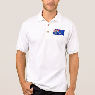 NZ all whites Kiwi soccer football fans gifts Polo T-shirts