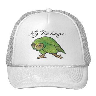 NZ Kakapo Cap Mesh Hats