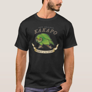 NZ Kakapo 'Parrot of the Night' T-Shirt