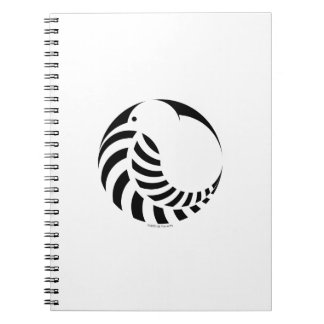 NZ Kiwi / Silver Fern Emblem Notebook