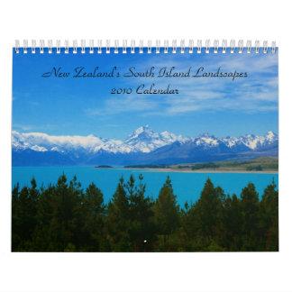 NZ Landscapes 2010 Calendar