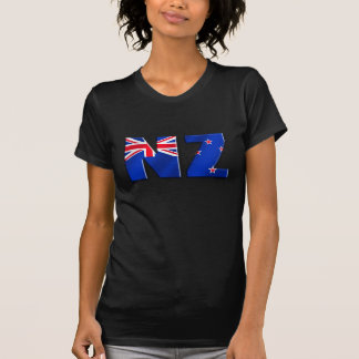 NZ logo flag of New Zealand T Shirts