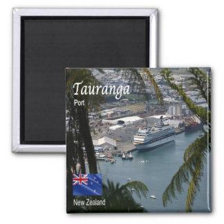 NZ - New Zealand - Tauranga - Port Square Magnet