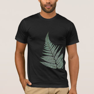 NZ Silver Fern, Dark Green T-Shirt