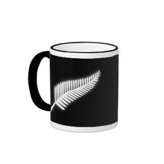 NZ Silver Fern National Emblem Patriotic Gift Mugs